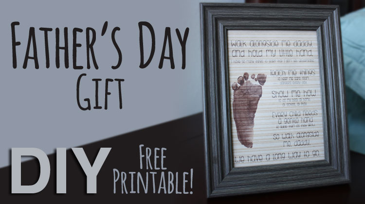 DIY Father's Day Gift {Free Printable}
