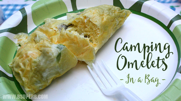 Camping Omletes (In A Bag)