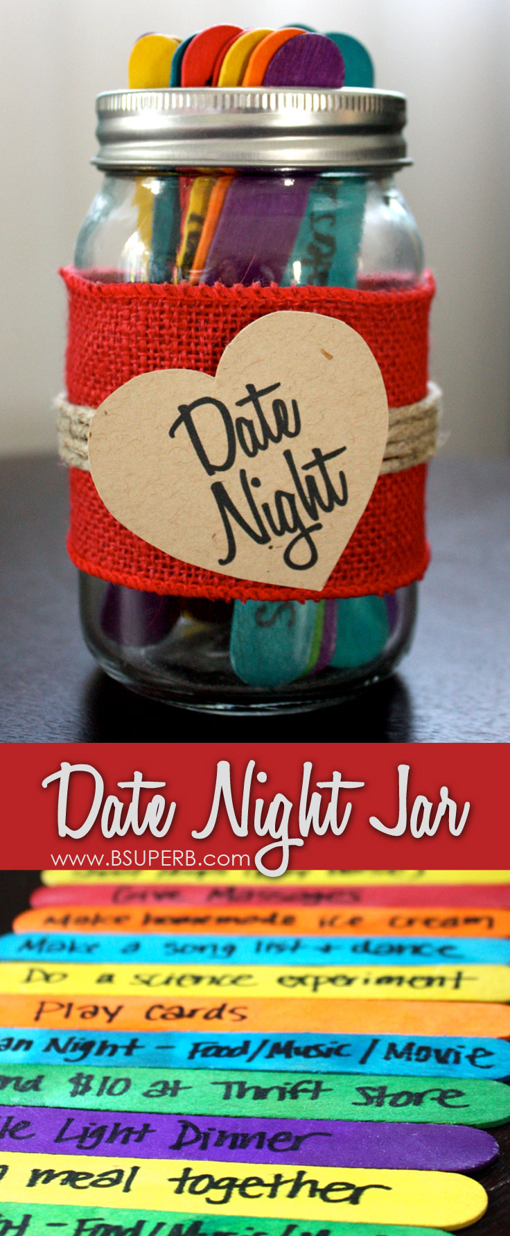 Date Night Jar B Superb