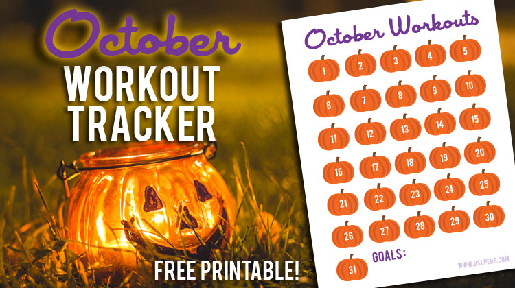 October Workout Tracker