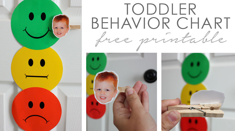 Toddler Behavior Chart  B Superb