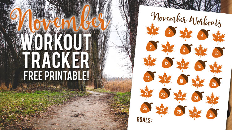 November Workout Tracker