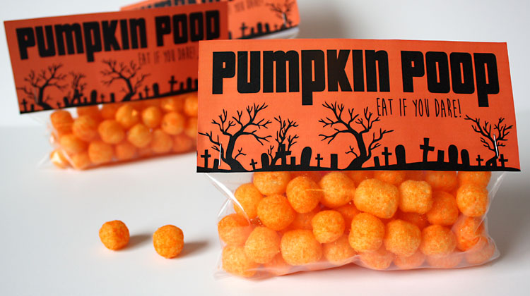 Halloween Treat Bag – Pumpkin Poop