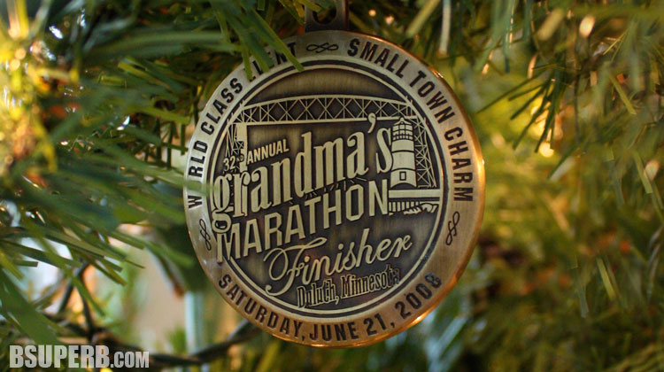 Turn Race Medals into Tree Ornaments