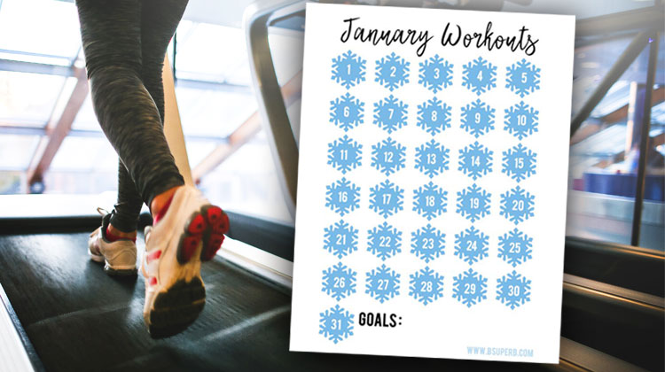 January Workout Tracker