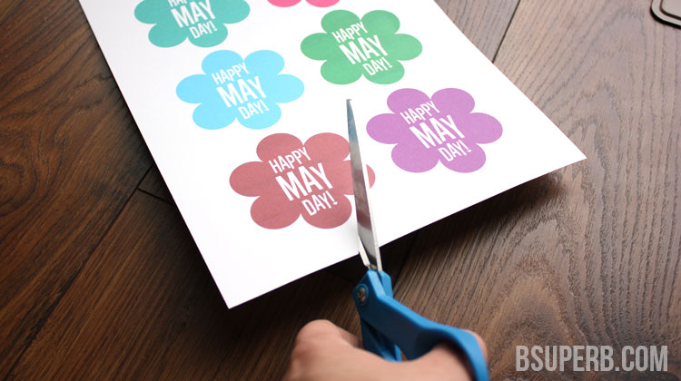 DIY May Day Basket - Free Printable