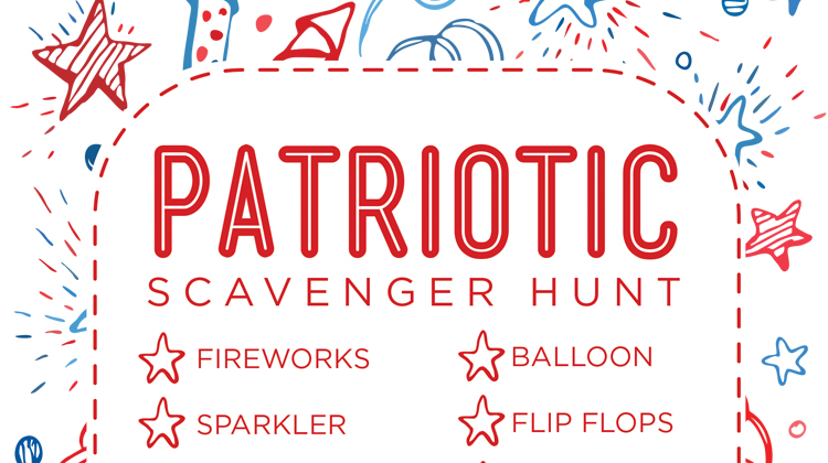 Patriotic Scavenger Hunt